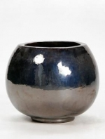 Metal Glaze Globe 47x38cm