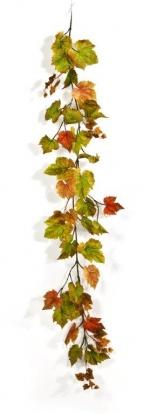 Druivenblad guirlande herfst 180cm