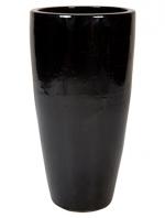 Partner Zwart glans 46x90cm