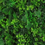 Vegetatie grof blad divers